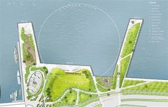2014 ASLA 通用设计荣誉奖 : Segment 5, Hudson River Park, A Resourceful and Resilient Space for a Park-Starved Neighborhood - 谷德设计网