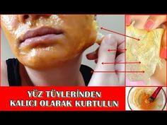 Μόνιμη αφαίρεση των μαλλιών του προσώπου 100% φυσική σπιτική συνταγή-μάσκα ζελατίνης - YouTube