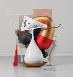 Digital Artist Omar Aqil Interprets Picasso Paintings as Sleek Modern Sculptures   Colossal