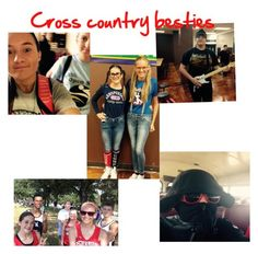 """""""Cross country besties"""" by calliew2332 ❤ liked on Polyvore featuring sztuka i country"""