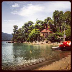 Love Bay, Poros island, Greece