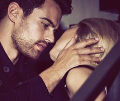Theo James, Theo Theo, Theodore James, James 3, Divergent Movie, Divergent Quotes, Cute Couples Goals, Couple Goals, Tris Und Four