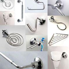 ◾◾Accesorios para baño ◾ ◾ Acero inoxidable con campanas de abs cromable.  Estamos c2562af49ca0