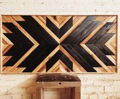 Luxury Home Decoration Ideas Reclaimed Wood Wall Art, Rustic Wood Walls, Wooden Wall Art, Diy Wall Art, Diy Wood Projects, Wood Crafts, Woodworking Projects, Wood Mosaic, Diy Holz