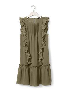 Ruffle Flounce Dress Product Image