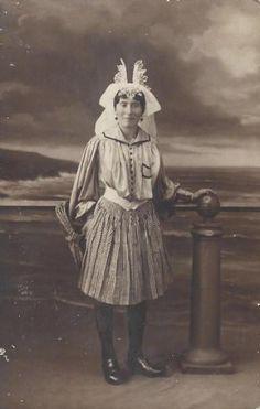 Folk dress from Sables d'Olonne region, France                                                                                                                                                                                 Plus