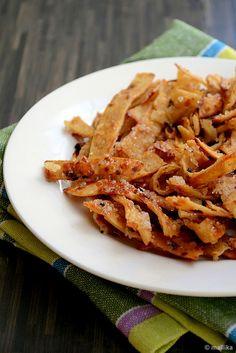 Veg Bowl: Caramelized Roti Crisps