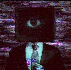 Tv Head, Am I Dreaming, Nostalgic Pictures, Arte Do Kawaii, Creepy Images, Vent Art, Weird Dreams, Animes Wallpapers, Dark Art