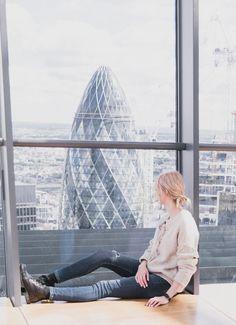 Prettiest Places to visit in London - Sky Garden / The Gherkin