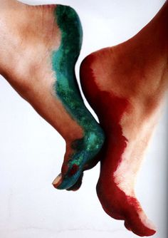 I want to try foot painting sometime