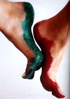 feet paint