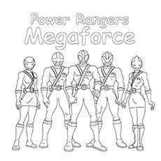Top 25 Free Printable Power Rangers Megaforce Coloring Pages Online Power Rangers Coloring Pages Power Rangers Power Rangers Megaforce