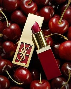 On My Lips - YSL Red Lipstick...<3