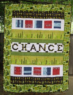 Chance's Quilt - Back