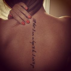 All that I am or hope to be I owe to you ~ tattoo for my Mama