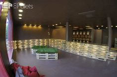 Comptoir & Assises En Palettes / Counter & Seats From Pallets