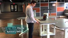 Symmetry Office Clarity - We have Height Adjustable Tables