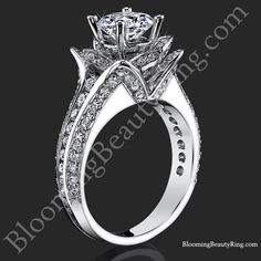 Unique Engagement Rings, Flower Rings, Vintage & Antique Engagement Rings