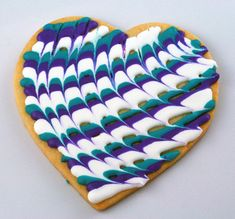 cookie decorating with a good sugar cookie recipe too! Valentines Day Cookies, Mother's Day Cookies, Fancy Cookies, Heart Cookies, Iced Cookies, Cute Cookies, Royal Icing Cookies, Cookies Et Biscuits, Birthday Cookies