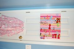 will be making this really soon... I've (really, Abby) has run out of room on her current bow holders...