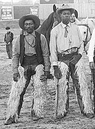 http://breakingbrown.com/ BLACK HISTORY MONTH - Black Cowboys ca. 1905, ©Solomon Butcher #rwfempowers