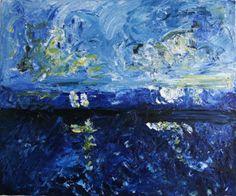 'Sky and Sea' by Fiona Savage http://artdiscoveredonline.co.uk/art-gallery/sky-and-sea-2/