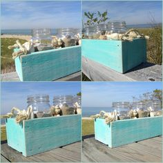 cute crates for beachy things~~~