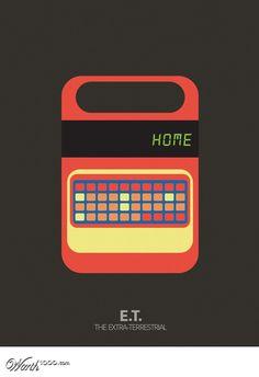 E. T. - Minimalist Movie Poster
