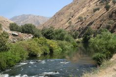 The Lower Kern River, along Highway 178, connects Lake Isabella and Bakersfield, CA.