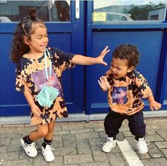 Cute Mixed Babies, Cute Black Babies, Beautiful Black Babies, Cute Babies, Cute Baby Girl, Cute Little Girls Outfits, Little Kid Fashion, Baby Boy Outfits, Kids Outfits