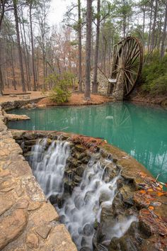 Emerald Pool, Mount Berry, Georgia photo via isabel