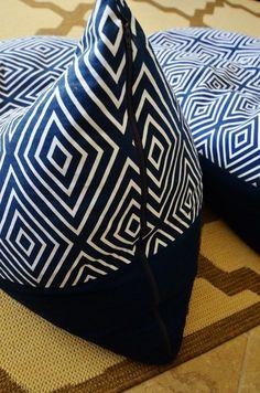 Textile Tuesday DIY Bean Bag Chairs