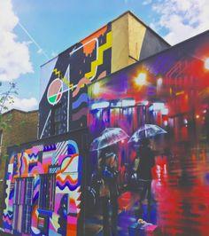 Street art in London | Visual walking tour