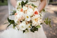 Clematis and Dahlia Bouquet | photography by http://www.sarahpostma.com