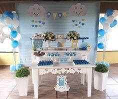 Chuva de Amor para comemorar a chegada do Isac. Parabéns para toda família e obrigada por contratarem decoração Tok de Festa. #tokdefesta #chuvadebencaos #chuvadeamor #chadebebemenino #chademenino #chadebebe #chachuvadebencaos #chachuvadebencaos #chachuvadeamor Lincoln Birthday, Ideas Para Fiestas, Party Themes, Cake Decorating, Bernardo, Inspiration, Virtual Baby Shower, Boy Baby Shower Themes, Events