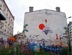 il murales della Rue Fessart