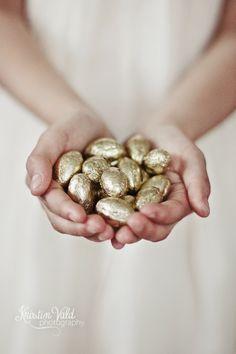 Golden Easter eggs - Kristín Vald