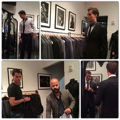 Tuukka Rask getting outfitted for the 2014 NHL Awards. In Boston, Boston Red Sox, Dont Poke The Bear, Nhl Awards, Boston Celtics, New England Patriots, Hockey, Fun, Field Hockey