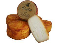 Queso Curado de Cabra Kicla con Pimentón de la Vera D.O www.laveratabarata.com