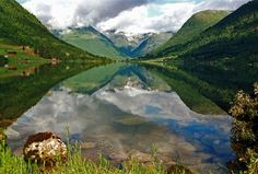 Dalavatnet Lake, Sogndalsdalen, Norway. Different POV.
