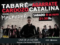 [#Murga] El 9 de mayo Agarrate Catalina en #Pergamino! Para informes y reservas: Casa de la #Cultura: Tel: (02477) 441099