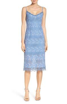 5f1924c789f Main Image - NSR Floral Lace Slipdress Prom Dresses