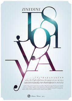Afiche Tipográfico on Behance
