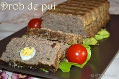 drob2 Dukan Diet, Meatloaf, Tiramisu, Deserts, Food And Drink, Cooking, Crafts, Kitchen, Manualidades