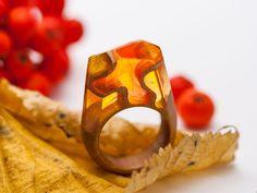 Green Wood - Деревянные кольца и украшения.