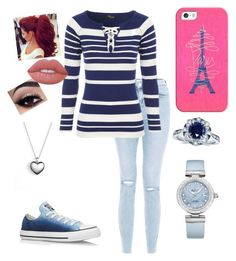 """""""Untitled #155"""" by xox-calumsgxrl on Polyvore featuring Jane Norman, Casetify, Converse, Kobelli, Lime Crime, Pandora and OMEGA"""