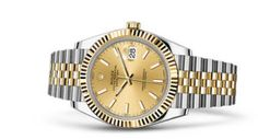 Discover the Datejust 41 watch in Yellow Rolesor - combination of Oystersteel and 18 ct yellow gold on the Official Rolex Website. Rolex Datejust, Rolex Bracelet, Bracelet Watch, Cartier Rolex, Rolex Watches, Watches For Men, Swiss Luxury Watches, Oyster Perpetual Datejust, Gray