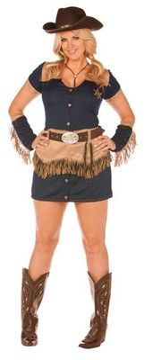 Cowgirl Costume for Plus Sized Women $48.47 //.costumeshopper.com  sc 1 st  Pinterest & 40 best Sexy Ladies Costumes images on Pinterest | Ladies costumes ...