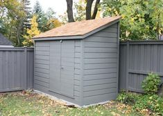 Cedar Sarawak shed 5x10 with concealed double doors in Toronto, Ontario. ID number 182416-1