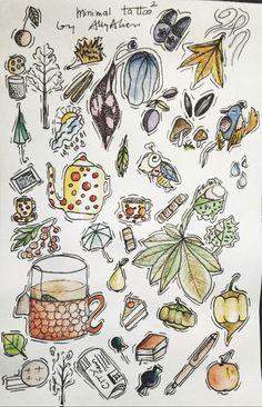 Instagram @aleksandraallyalien // snapchat @allycecillotus // Facebook @allytattooartistsasylum Mini tattoos Ally Tattoo  #allyalien #allytattooartistsasylum #dreamtattoo #autumn #photooftheday #fall #leaf #foliage #red #beauty #seasons #fallweather #color #amazing #warm #trees #season #instaautumn #instagood #colorful #tattoos #instafall #clouds #cold #falltime #tree #beautiful #autumnweather #nature #study #TFLers #flashes